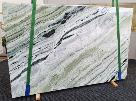 GREEN BEAUTYpolierte Unmaßplatt Chinesischer Marmor Slab #30,  280 x 180 x 2 cm  (verfügbar Veneto, Italien) Natur Stein