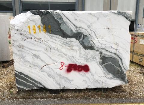 PANDA 1 rohe Rohe Block Chinesischer Marmor 103 x 67 x 33 ˮ  (nicht Verfübare Verona, Italien) Natur Stein